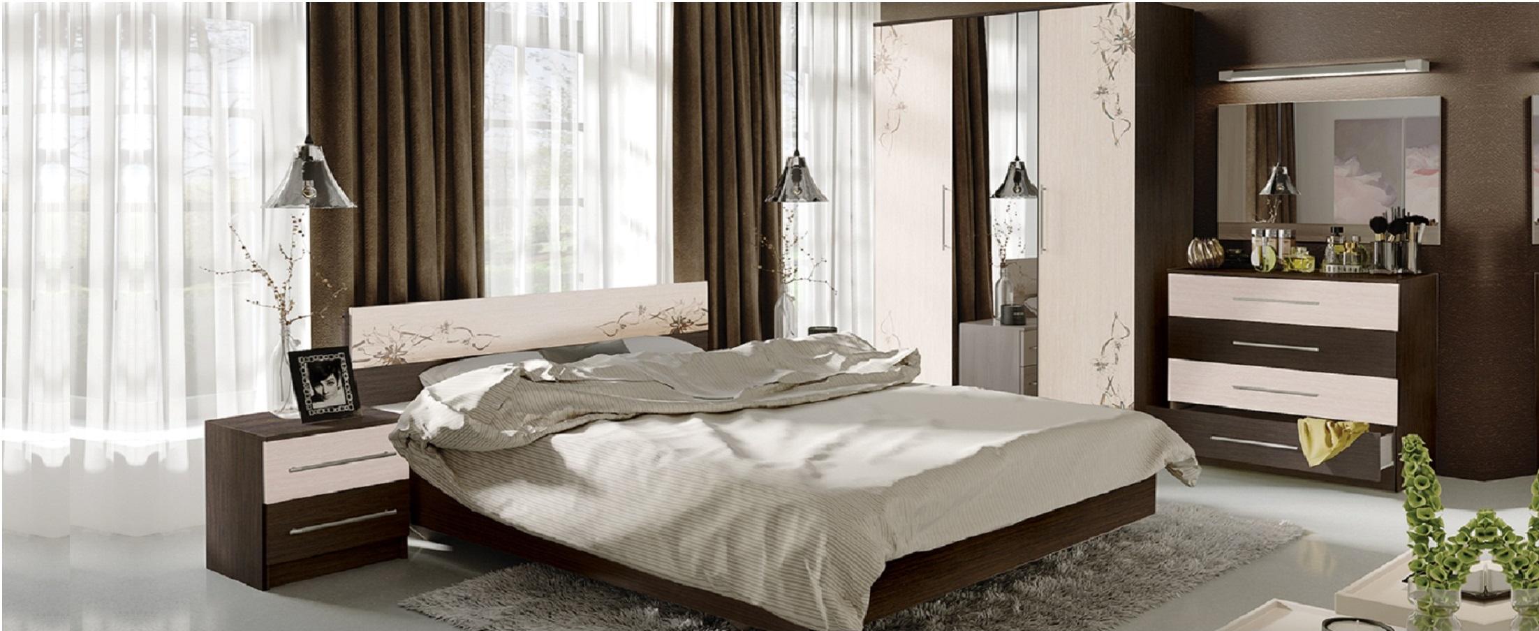 Спальный гарнитур Мишель - купить во Владивостоке в интернет-магазине MOON TRADE Д001579